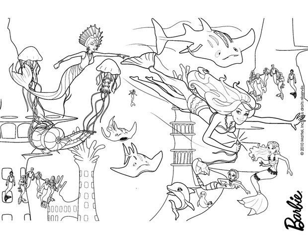 Are you looking for BARBIE in A MERMAID TALE coloring pages ...