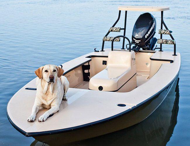 Garden & Gun Magazine Skiff - A Shallow Water Fishing Boat