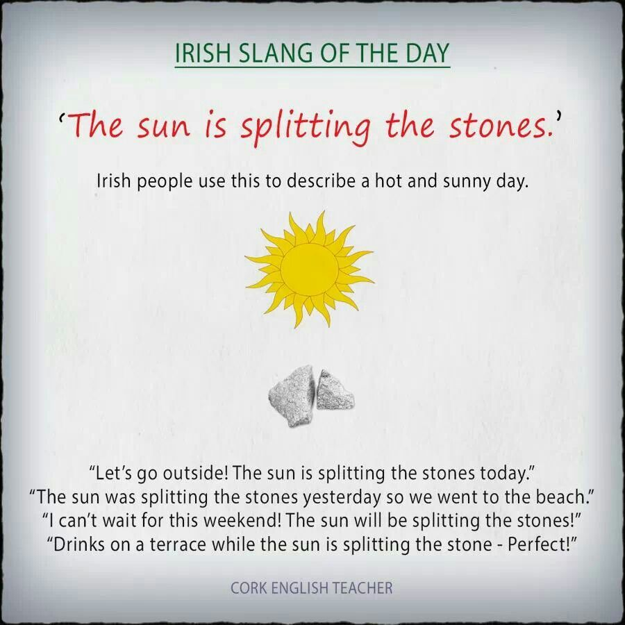 The sun is splitting the stones. | | Study | | Pinterest | Irish ...
