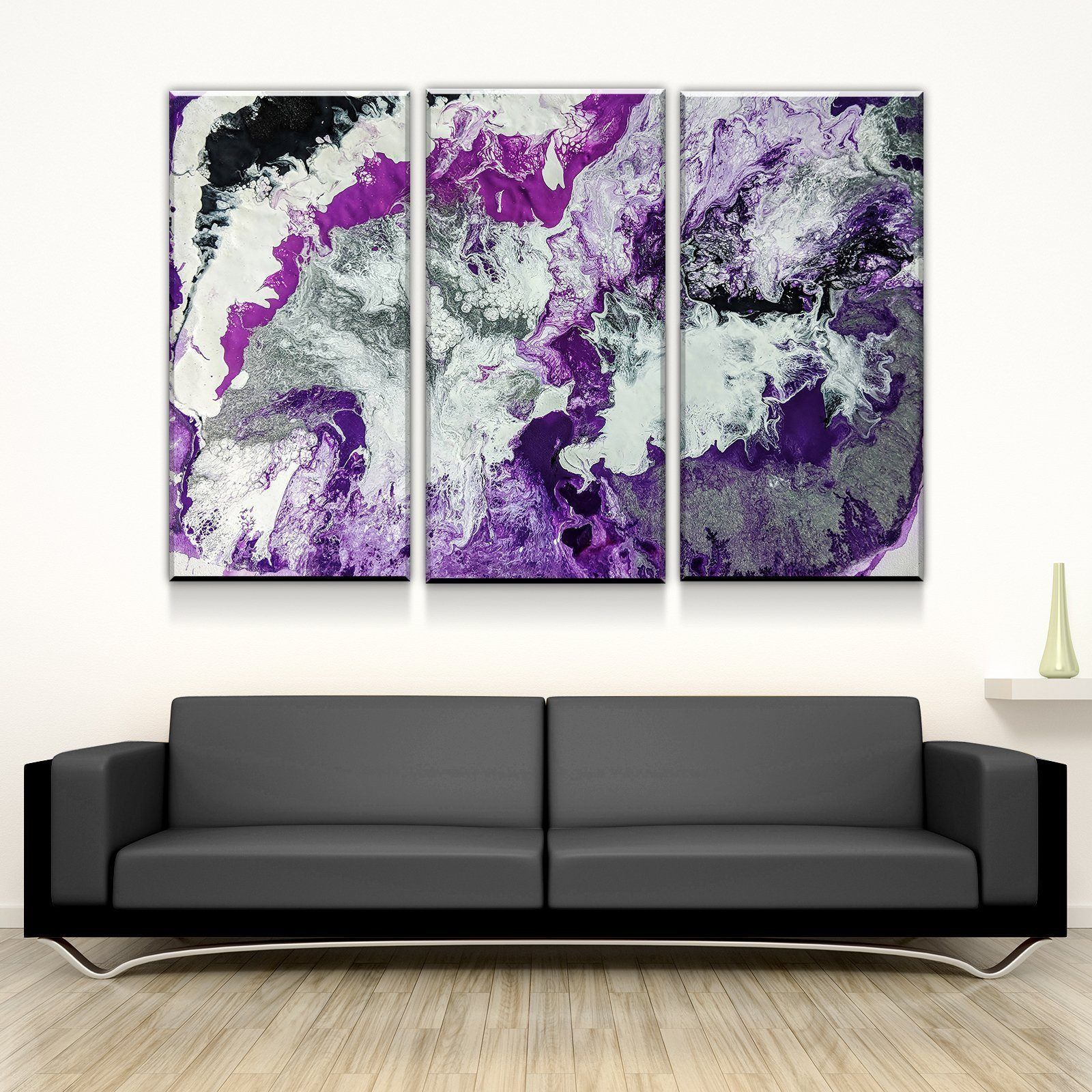 The Unveiling Canvas Set In 2021 Purple Canvas Art Purple Wall Art Customized Canvas Art