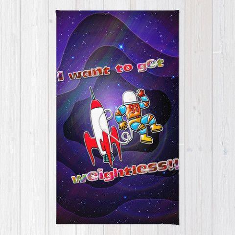 #society6 #Throwrug #floors #home #dorm #decor #style #space #astronaut #weightless #zero-g #sci-fi #rocket #EVA #floating #freedom #unbound #unique #petergross
