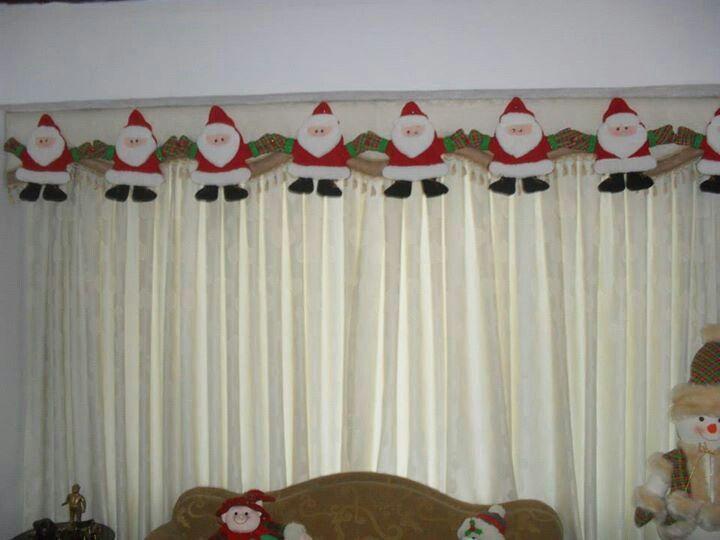 Cenefa CORTINAS Pinterest Cenefa, Navidad y Cortinas