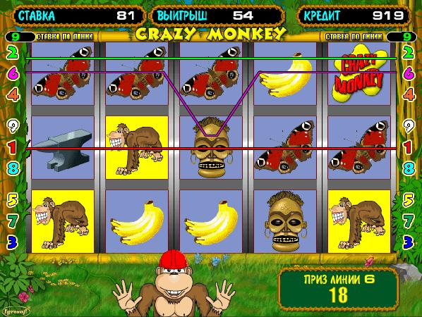 Игровой автомат крейзи манки онлайн бесплатно игровые автоматы и слоты вулкан