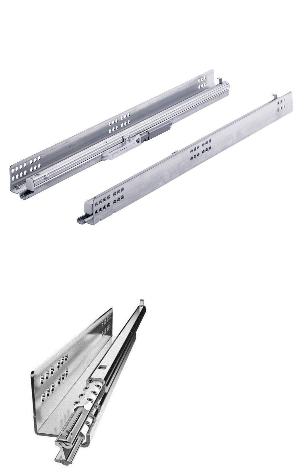 Drawer Slides 134642 Everbilt 15 Full Extension Undermount Soft Close Slide Set Lot Of 2 9236059 Buy It No Soft Close Drawer Slides Drawer Slides Drawers