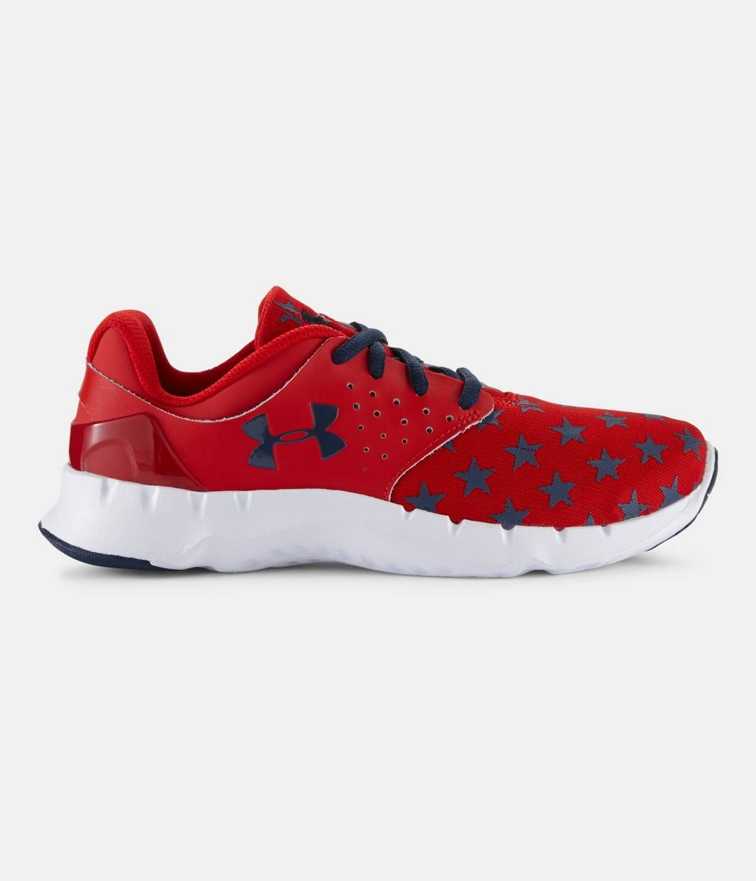 Boys' Grade School UA Flow Flag Graphic Running Shoes | Under Armour US