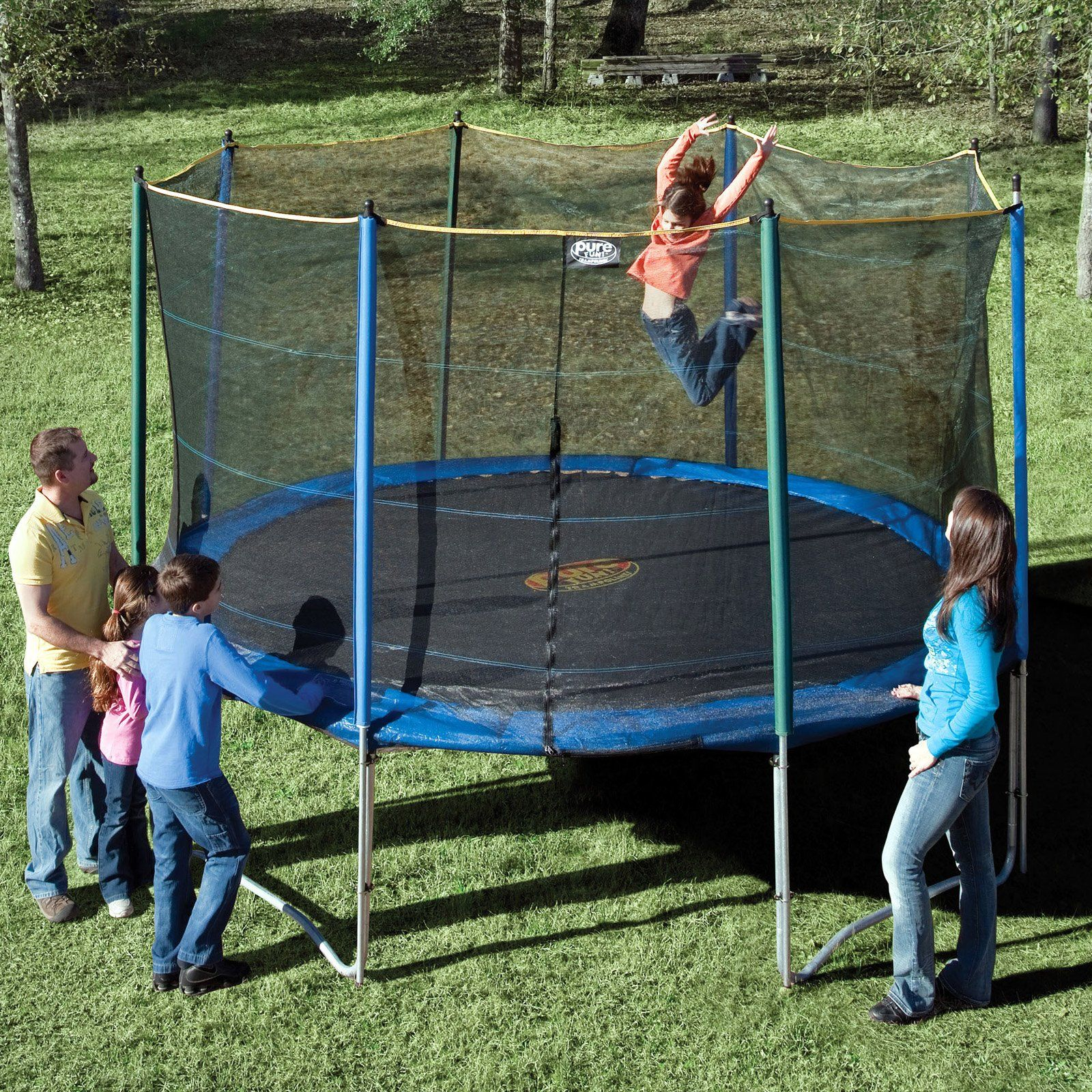 Pure Fun 12 foot trampoline, one of the top trampolines
