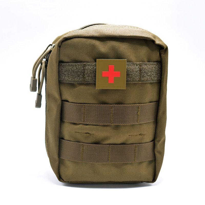 Barato Mini Bolsa De Viagem Kit De Primeiros Socorros Survie Portatil Survival Tactical Pacote De Kit De Prim Mini Pouches Emergency First Aid Kit Travel Pouch