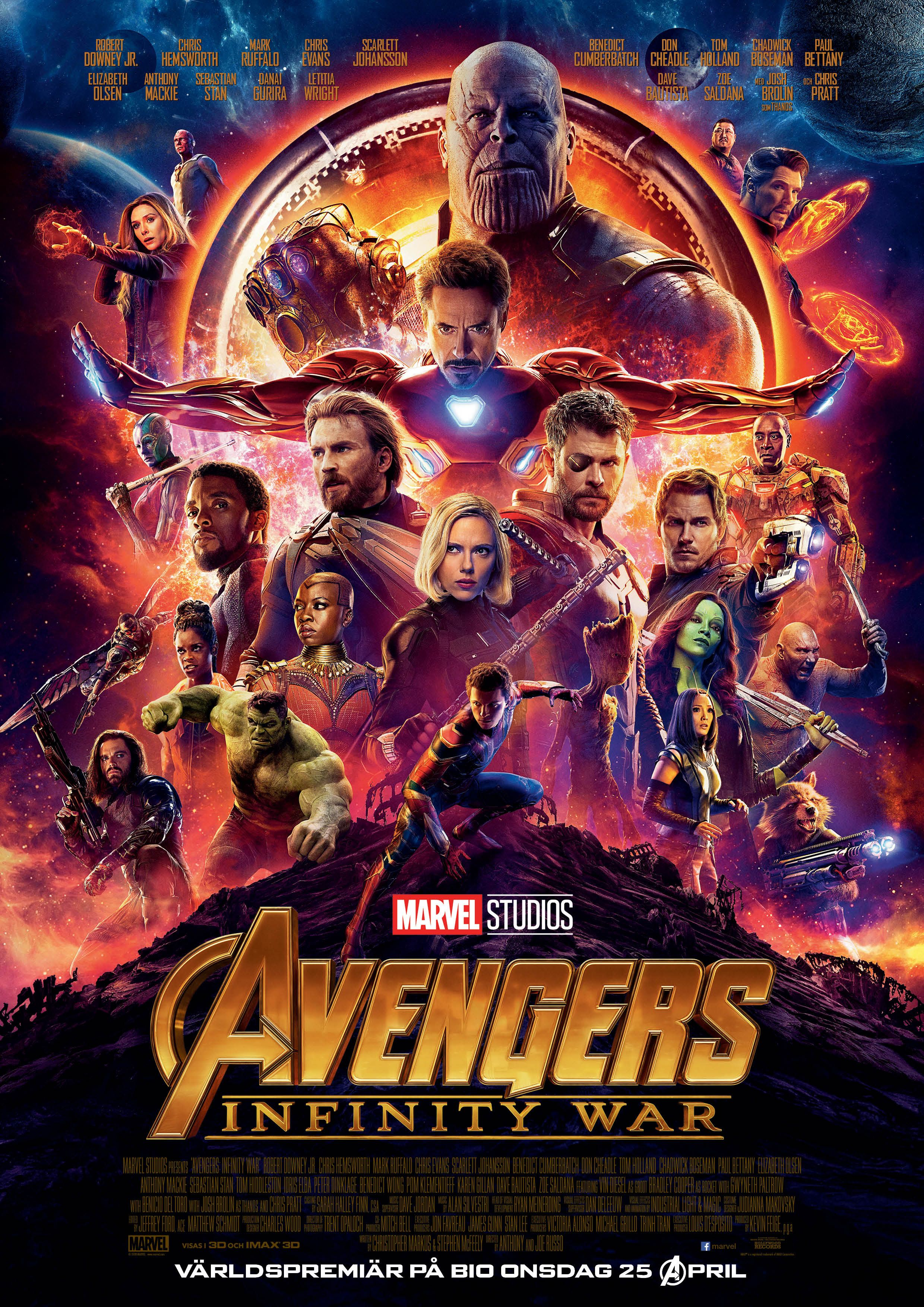 Avengers Infinity War c'est spectaculaire, ça pète de