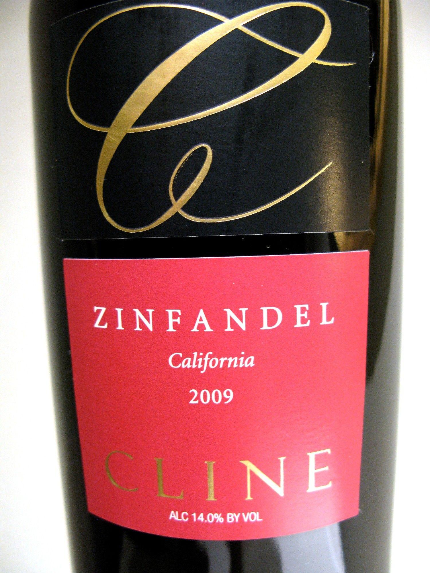 Cline California Zinfandel Bottle Gift Wine Bottle Wine Aerators