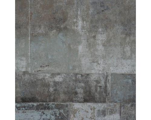 Vliestapete Eye Steinoptik Silber Ziegel Hintergrund Betontapete Tapeten