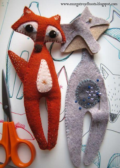 Foxy de fieltro