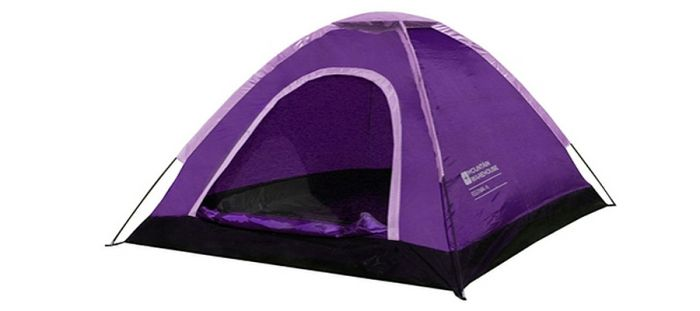 Festival Dome Tent In Funky Purple Camping