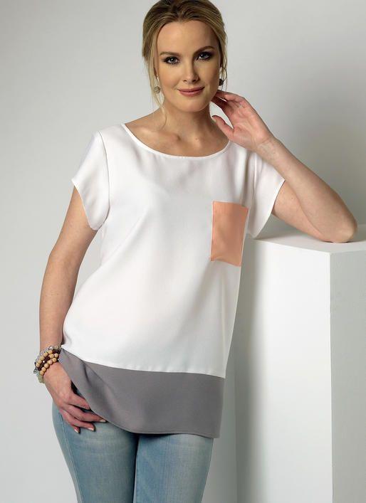 B6214 | Butterick Patterns | Costura ropa | Pinterest | Blusas de ...