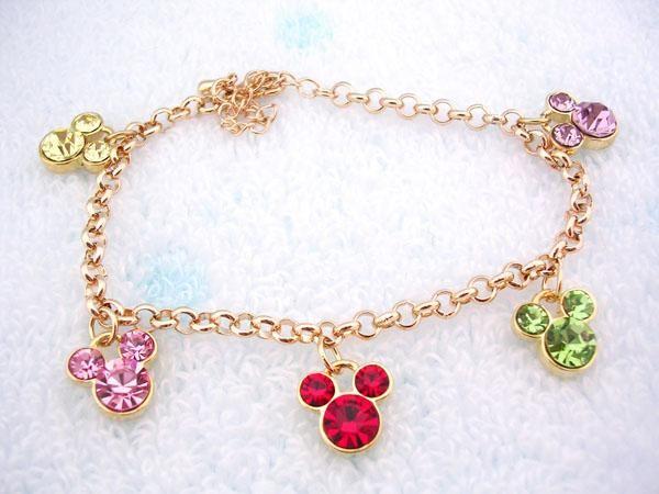 Disney Mickey Mouse swarovski crystal bracelet | Disney jewelry ...