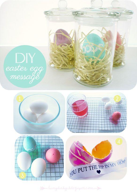 hi, my baby: Last minute Easter gift idea {DIY}