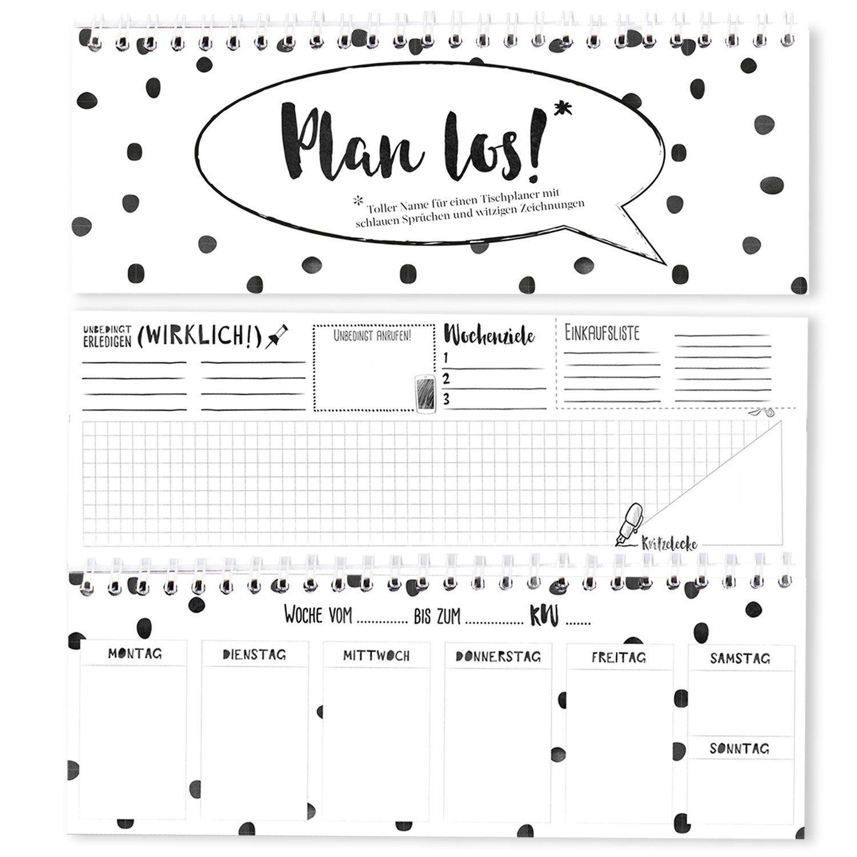 Tischplaner Tischkalender Ohne Kalendarium Wochenplaner Ohne Festes Datum Kalender Schwarz Weiss Buroplaner 1 Woche 2 Seiten Plan Los Words Math Word Search Puzzle