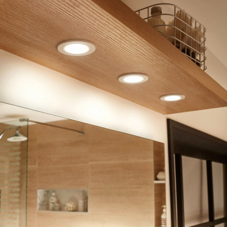 Awesome Corniche Lumineuse Leroy Merlin Bathroom Design Bathroom Mirror Wooden Ceilings
