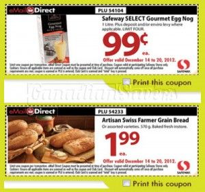 graphic regarding Safeway Printable Coupons titled Safeway Weekly Grocery Discount coupons! Printable Discount codes