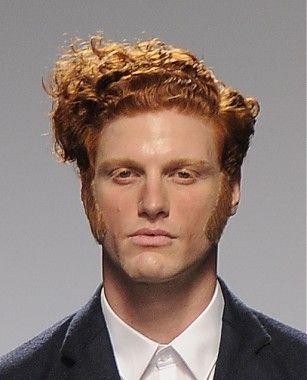 Medium Red Curly Copper Mens Hairstyles For Men Men S Short Hair