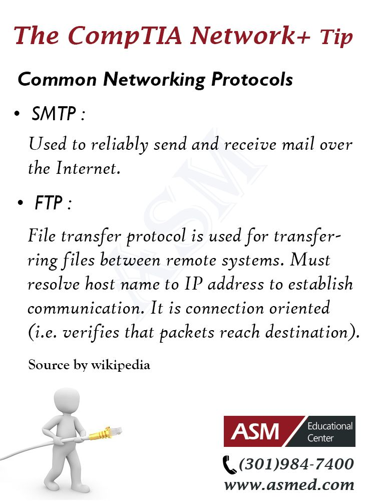 Comptia Network Training Tip Common Networking Protocols For