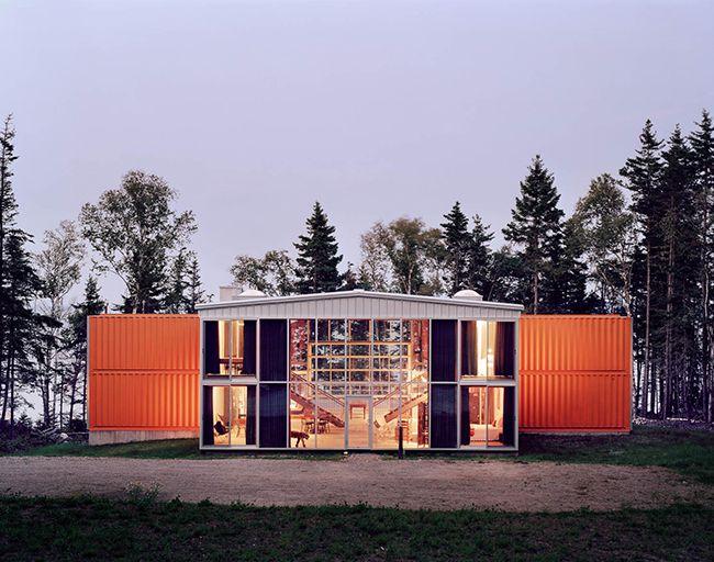 Maison container  une construction économique et rapide House - plan d une maison simple