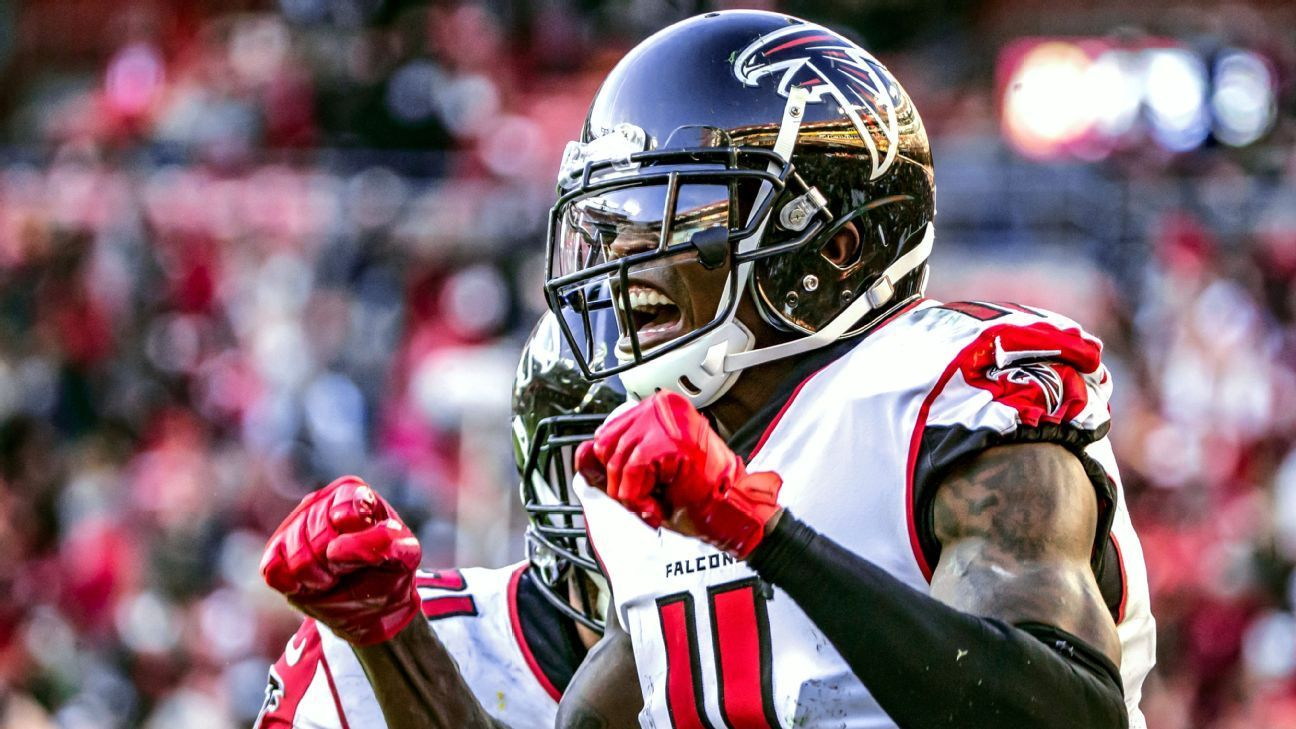 Falcons Sign Jones To Record 3 Year Extension Julio Jones Falcons Julio Jones Falcons