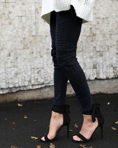 380a45c4c28761 Frayed Piper Jegging - Black | VICI FAVORITES | Fashion, Boho shoes ...