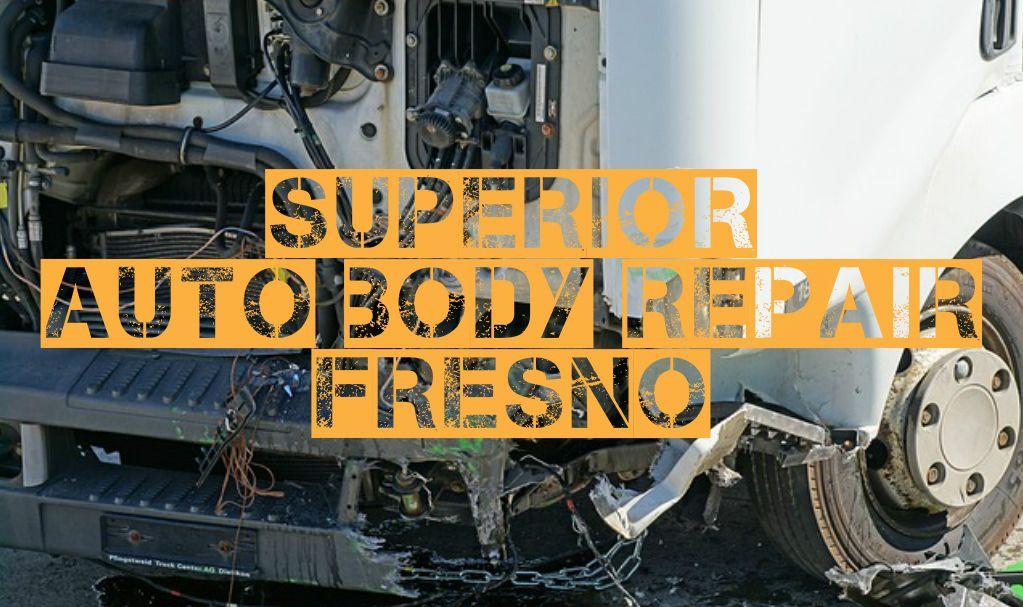Fresno Auto Body Repair and Painting Auto body repair