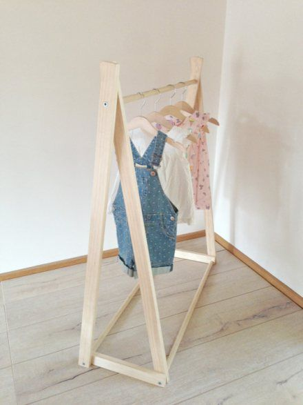 Attractive wooden clothes rack - Google Search | DIY goodness | Pinterest  QK18