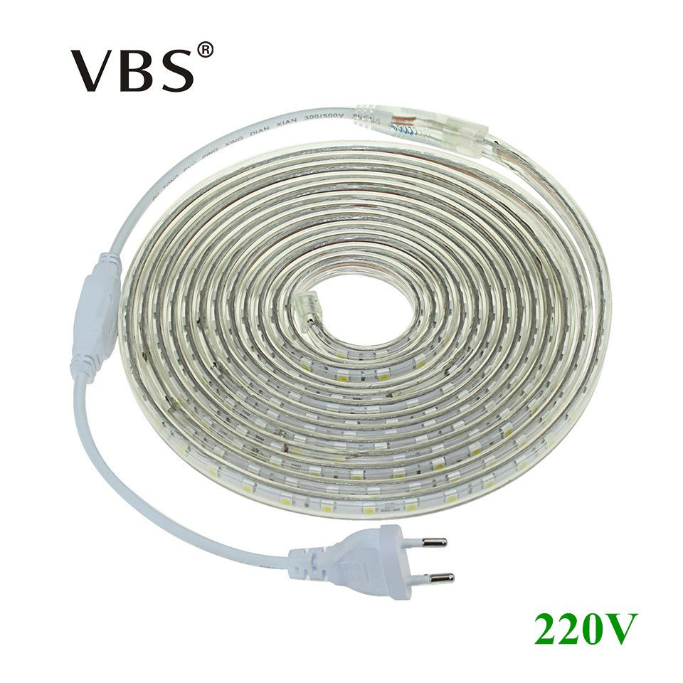 Led Strip Light Smd 5050 Ac 220v Flexible 1m