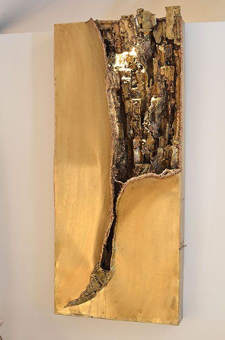 Wandbrunnen aus Bronze – Individueller Wandbrunnen vom Metall-Künstler   GAHR