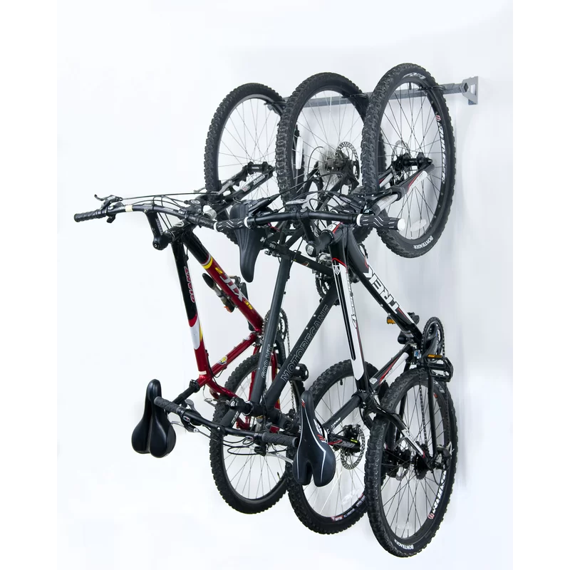 2 0 Monkey Bars 3 Bike Wall Mounted Bike Rack In 2020 Bike