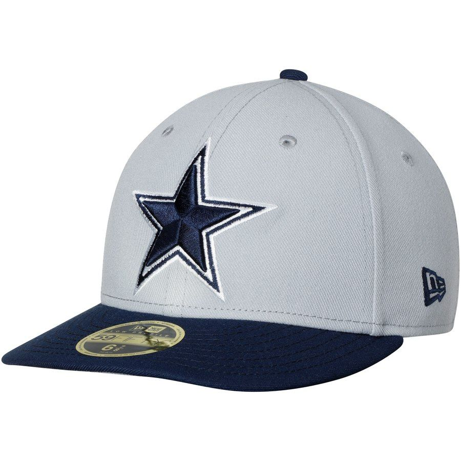 9e0ed5604 Men's Dallas Cowboys New Era Gray/Navy Omaha II Low Profile 59FIFTY Fitted  Hat, Your Price: $35.99