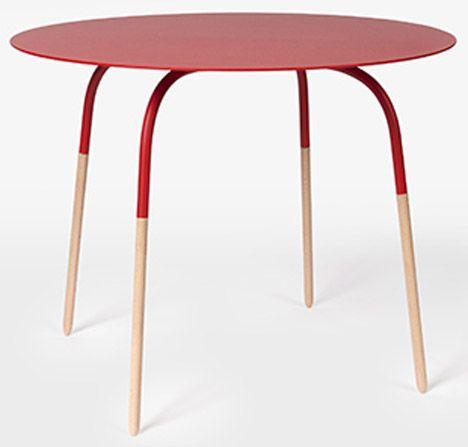 tables with super skinny legs furniture lighting. Black Bedroom Furniture Sets. Home Design Ideas