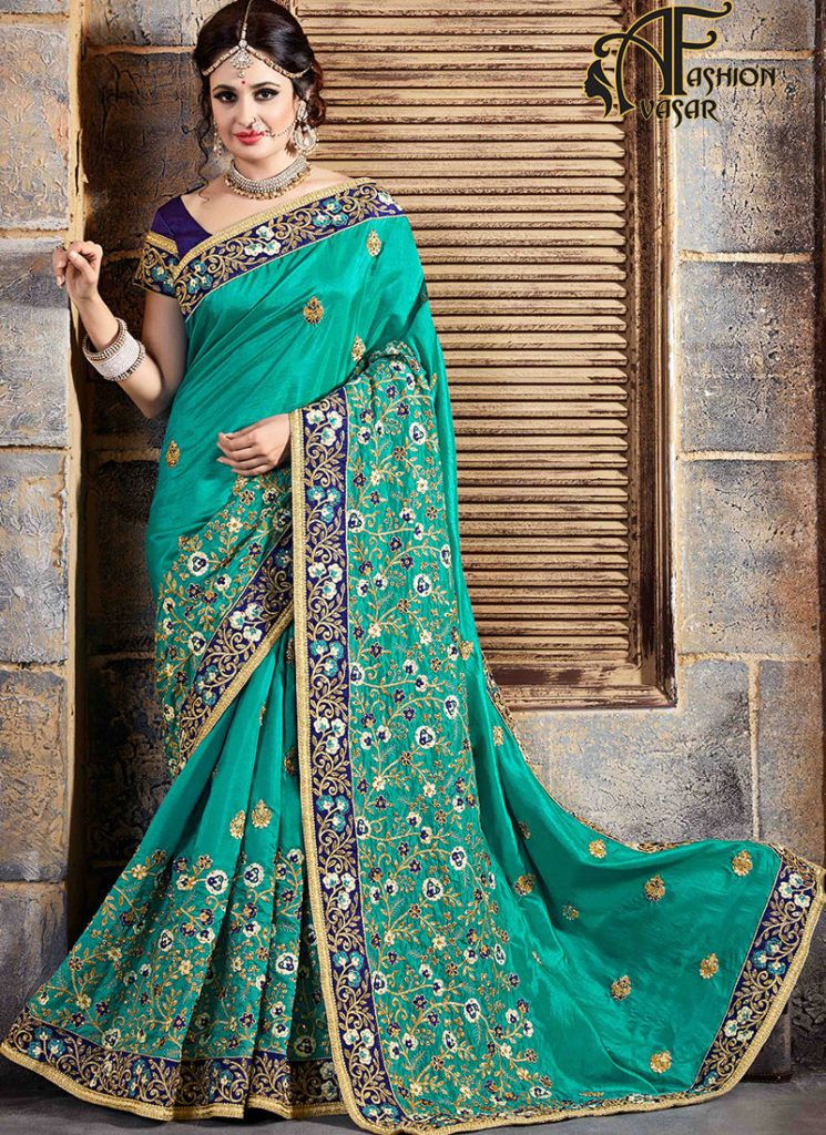 Wedding Reception Sarees Bridal Designer Sarees For