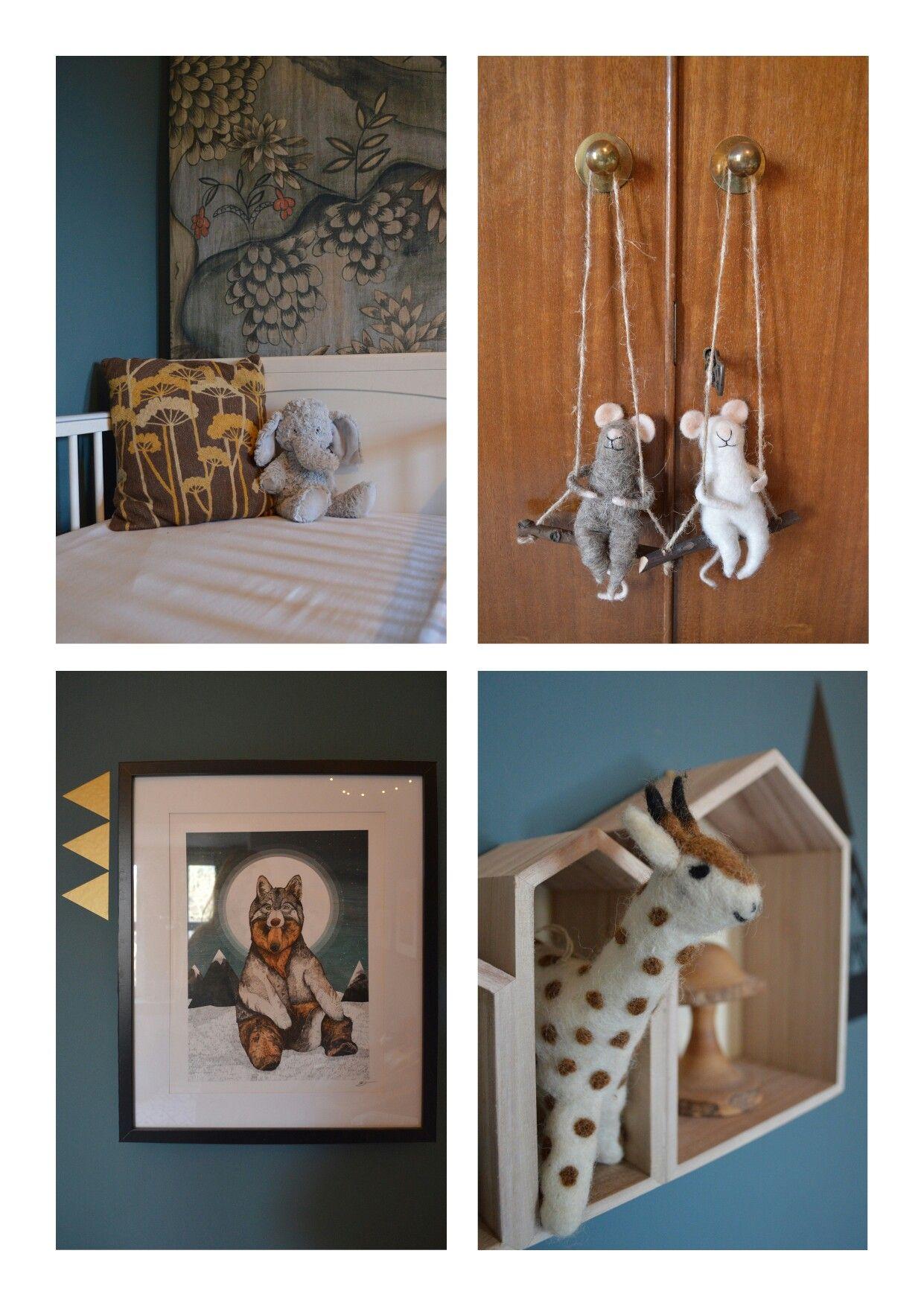 Woodland Creature Nursery Theme Edinburgh Unisex