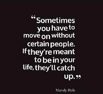 Sad quotes about moving on