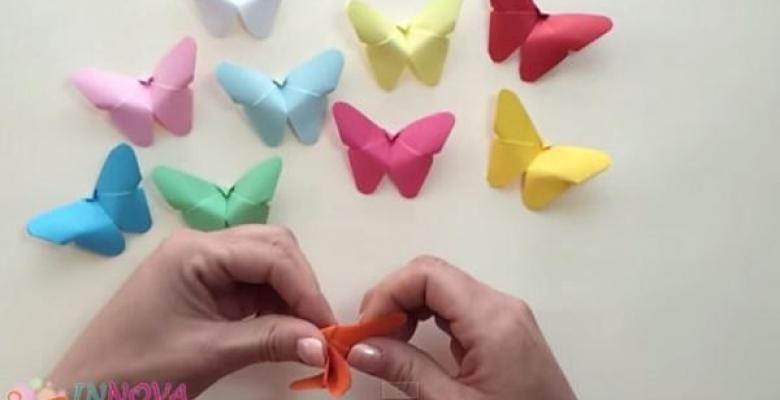 bricoler de mignons papillons de papier cr atif pinterest. Black Bedroom Furniture Sets. Home Design Ideas