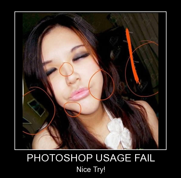Sexy photoshop fail