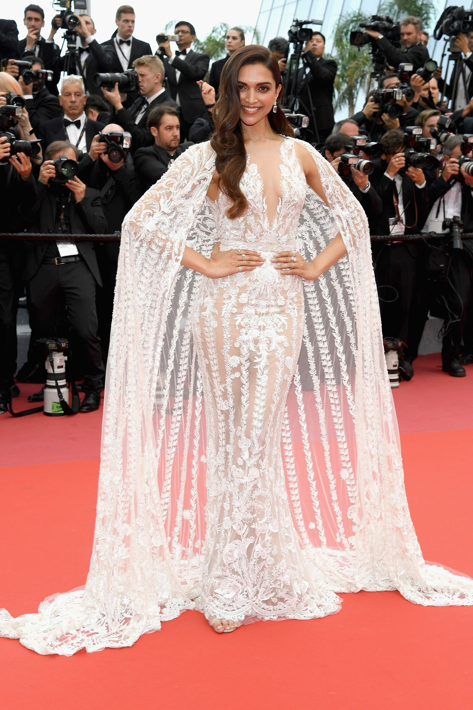 20b908f1 Everyone's Wearing Naked Dresses on the Cannes Red Carpet- HarpersBAZAAR.com