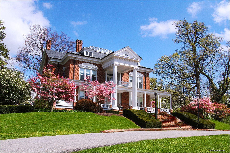 The Grove. Virginia Tech. April, 2013. University admissions