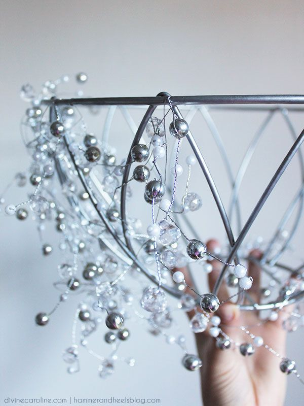 How to Make a DIY Chandelier in an Hour | Diy chandelier, DIY and ...