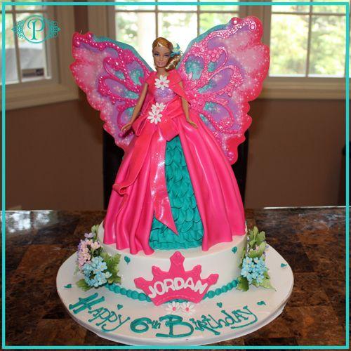 barbie cakes Barbie Fairytopia Specialty Birthday Cake
