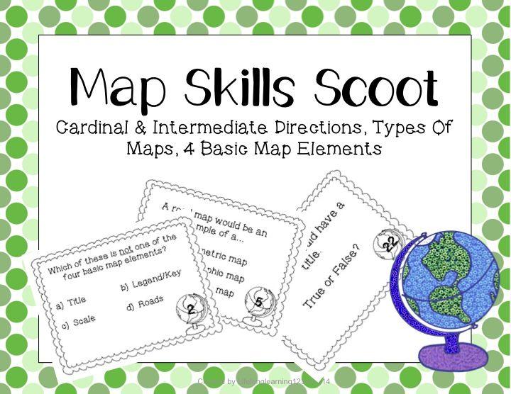 map skills scoot teaching map skills map skills. Black Bedroom Furniture Sets. Home Design Ideas