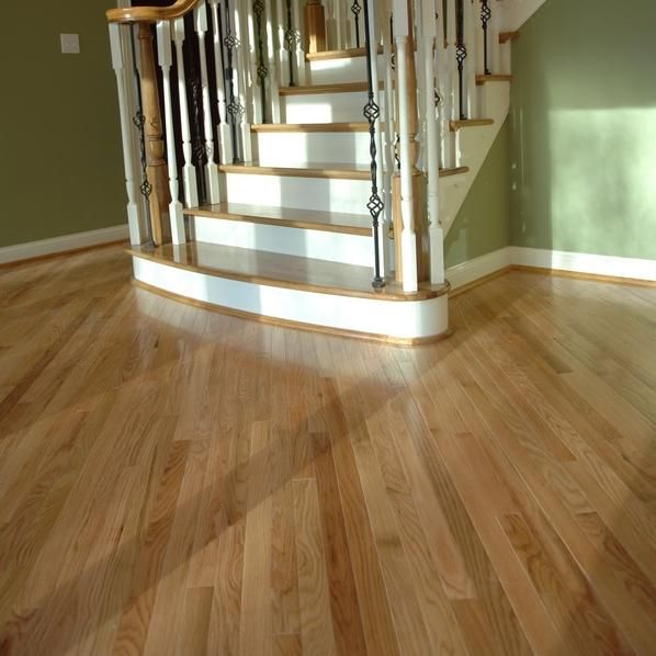 703 Sq Ft Of This Beautiful 1 1 2 Red Oak Strip Flooring For Our Addition Unfinished Hardwood Flooring Red Oak Floors Hardwood Floors
