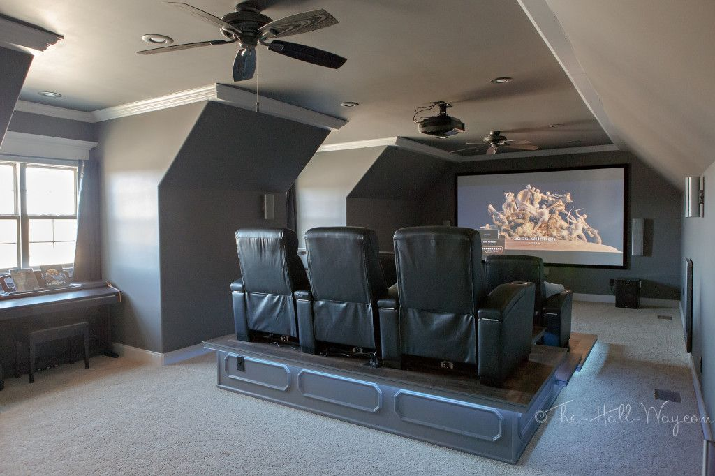 15 Fabulous Bathroom Attic Green Tiles Ideas Home Theater Seating Home Theater Setup Home Theater Rooms