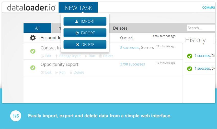 Data Loader | documentation & Tutorial | Dataloader io