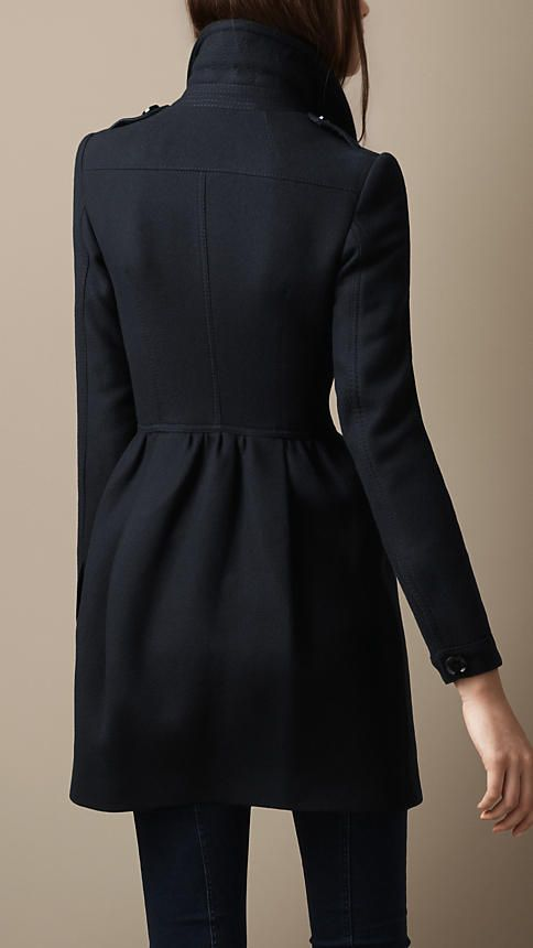 Wool Twill Dress Coat | Burberry $775 on sale!