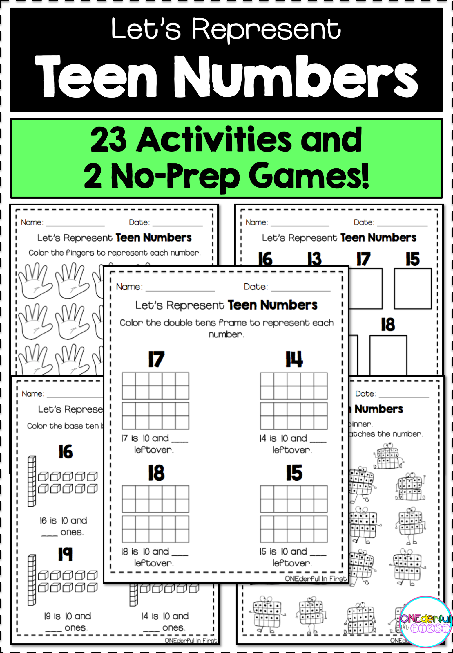 Worksheet Comparing Numbers Small