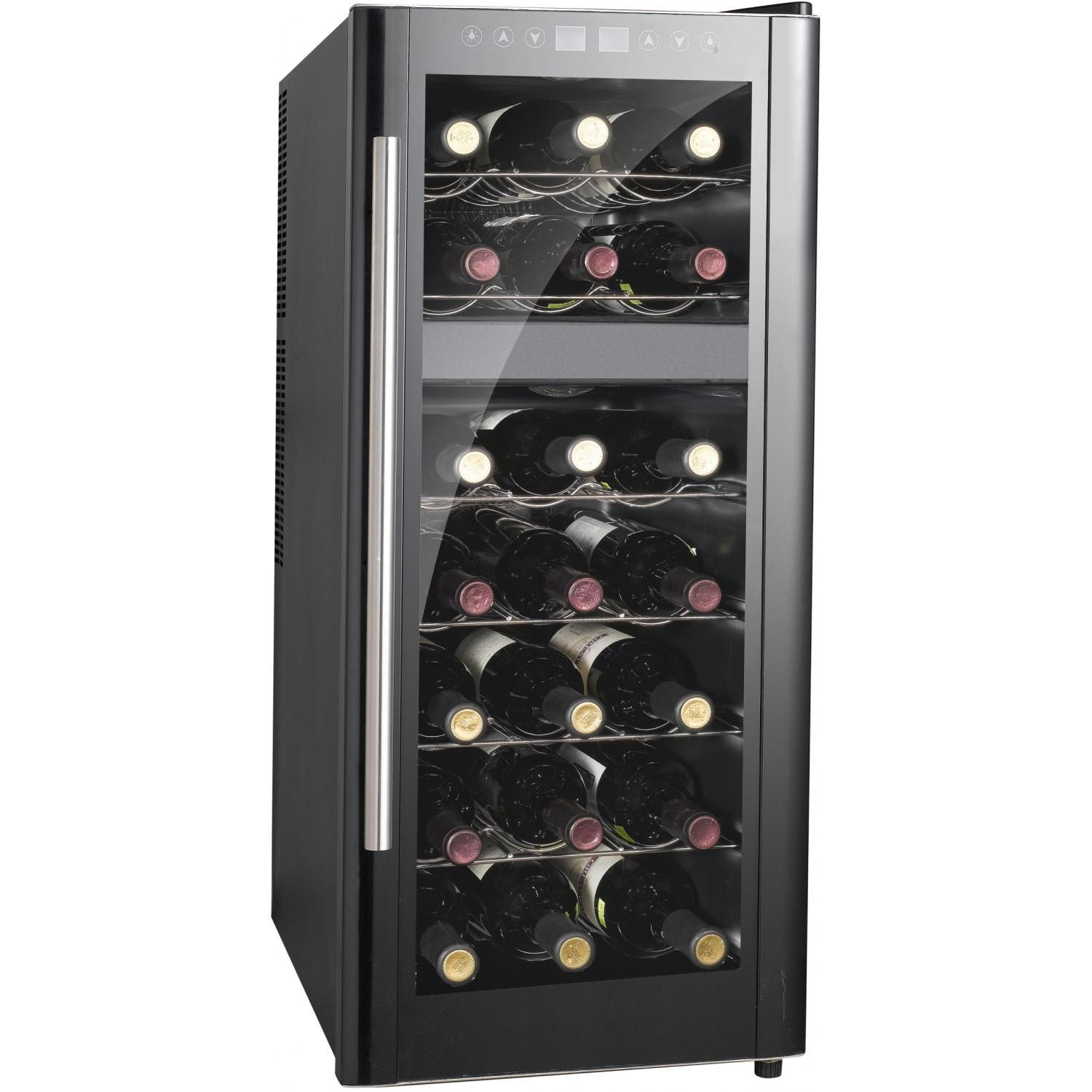 Sunpentown 21 Bottle Dual Zone Thermoelectric Wine Cooler With Heating Wc 2192dh Thermoelectric Wine Cooler Wine Refrigerator Italian Wine
